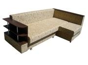 Угловой диван Евро (с полками)
