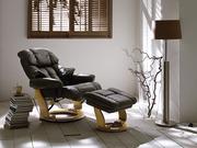 Запоріжжя Крісло шезлонг Relax з оттоманом,  респектабельний комплект В