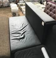 Продам бу чёрный диван в хорошем состоянии